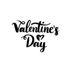 Valentines Day Handwritten Lettering