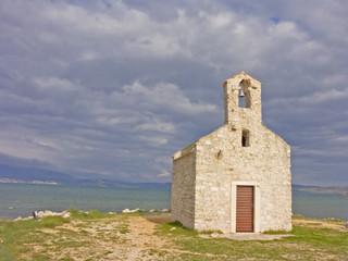 Kapelle im Novigrader Meer