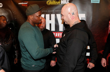 Boxing - Dillian Whyte and Lucas Browne Press Conference