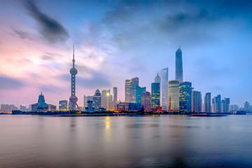 Shanghai, China from the Bund