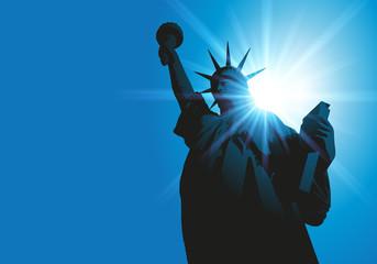 Statue de la liberté - New York - symbole -américain - monument - Amérique