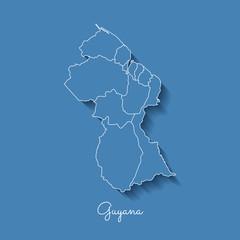 Search photos guyana region map