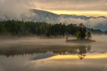 Tuinposter Scandinavië Norwegen Landschaft