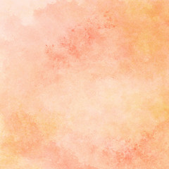 peach and orange watercolor texture background, hand painted