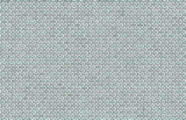Aqua Black White Textured Grid Background. This unique background in aqua, black, and white is a grid formed by intersecting vertical and horizontal strands filled with random dots and lines.