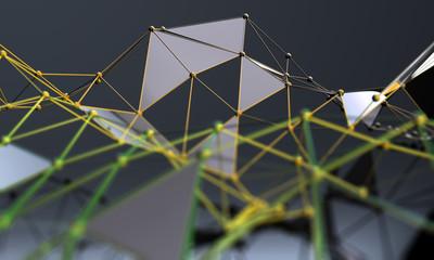 Ciencia y tecnologia.Negocios y trabajo en red.Malla o red,concepto de internet