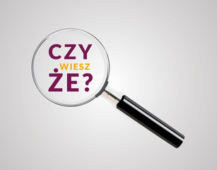 Obraz Did You Know Question - Graphic, icon, logo, symbol, button. Colorful vector element AI / EPS 10  vol.3 - fototapety do salonu