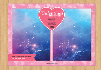 Photography Studio Valentine's Day Special Flyer 9