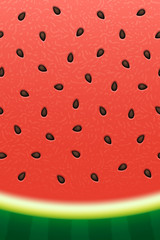 Watermelon texture background