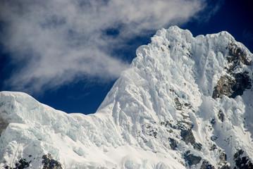 Landscape in Cordillera Blanca