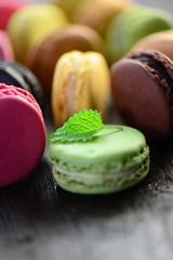 Macarons Minze