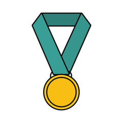 medal vector illustration