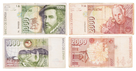 Obsolete bank notes
