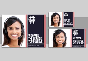 Customer Service Social Media Posts Set 8