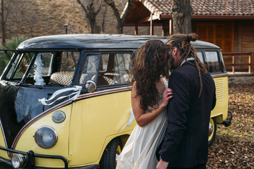 couple in love with Van