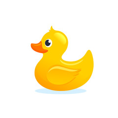 Yellow Rubber Duck illustration
