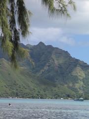 Bora Bora. Resort en Polinesia Francesa (Ocenia)