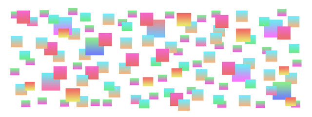 квадраты цветные