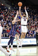 NCAA Basketball: St. Mary's at Gonzaga