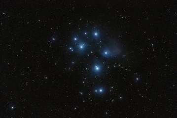 Messier 45 Pleyades Subaru Nebula