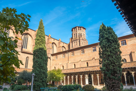 Cloister of Augustins in Toulouse France