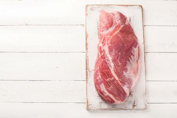 Keuken foto achterwand Vlees Raw pork meat