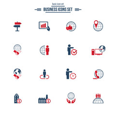 Universal business icons set