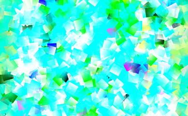 Hintergrund mit hellblauem Mosaik