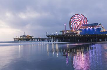 USA, California, Los Angeles,  Santa Monica Pier