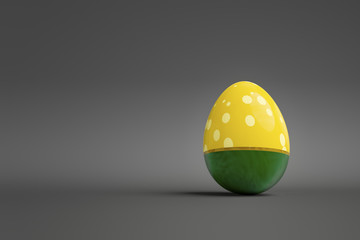 a easter egg with space for your text