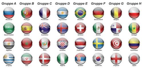 Russland - Gruppen (Querformat)