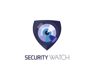 Security watch logo