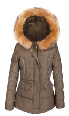 Elegant ladies winter jacket