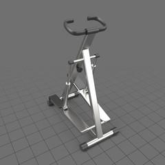 Gym step machine