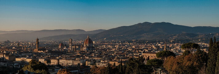 Panorama of Florence, Florence, Italy