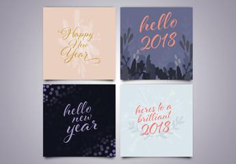 New Years Social Media Post Layouts 02