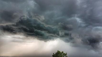 Nuage orageux