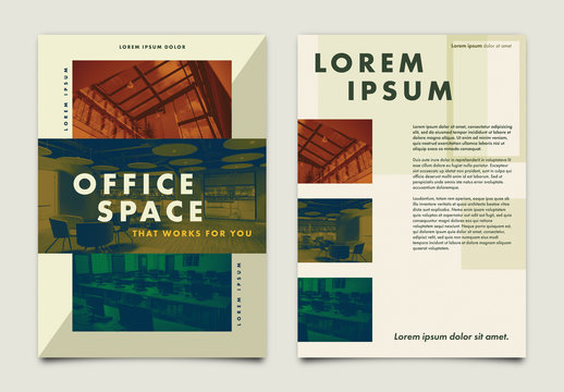 Office Space Realty Brochure Layout 1