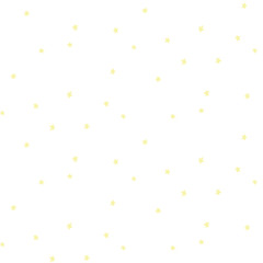 Vector seamless pattern with yellow stars