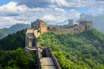 Tuinposter Chinese Muur The Great Wall of China