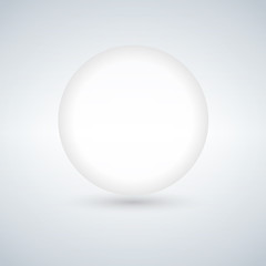 Glass Ball, With Gradient Mesh, Vector Illustration