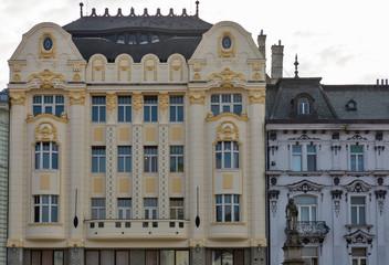 Palace Hungarian exchange bank in Bratislava, Slovakia.