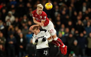 Championship - Derby County vs Bristol City
