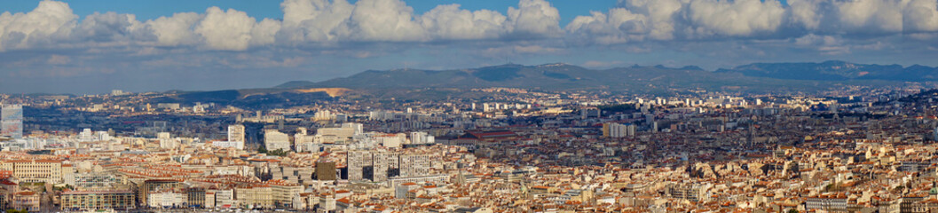 Panoramic Views Of Marseille