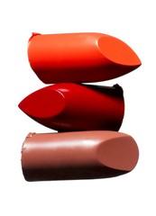 Three pieces of lipstick