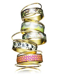 Stack of ring bands