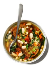 Bowl of bean soup
