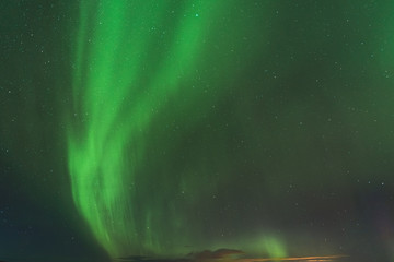 Northern Light in Iceland