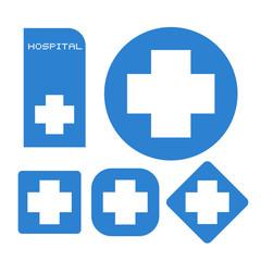 Hospital symbols