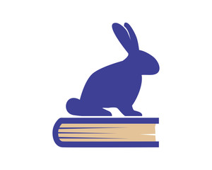 book library read rabbit hare rabbit fauna image